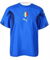 Maglia ufficiale dell'Italia in casa