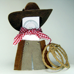 iPod shuffle cowboy