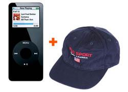 Ipod nano + berretto Polo Sport