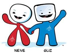 Neve e Gliz, mascotte di Torino 2006