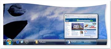 Barra di Windows Vista