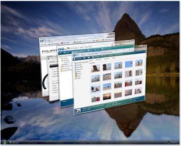 Preview di Windows Vista